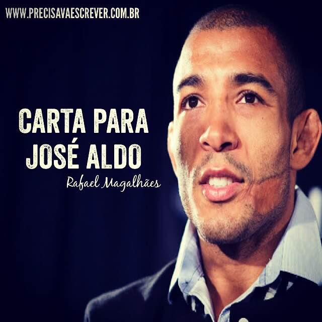 Carta para José Aldo